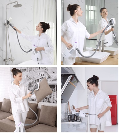 Light n Easy steam cleaner