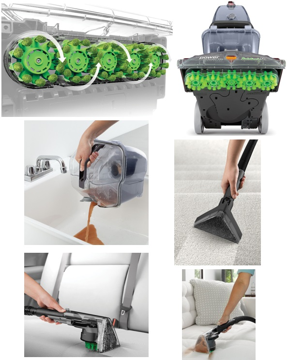 Royal carpet cleaning machine