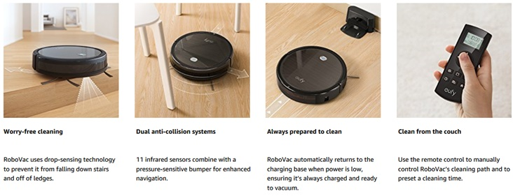 Eufy RoboVac cleaner