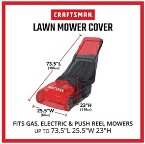 Craftsman Lawn Mower Cover