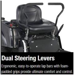 Dual Steering Levers