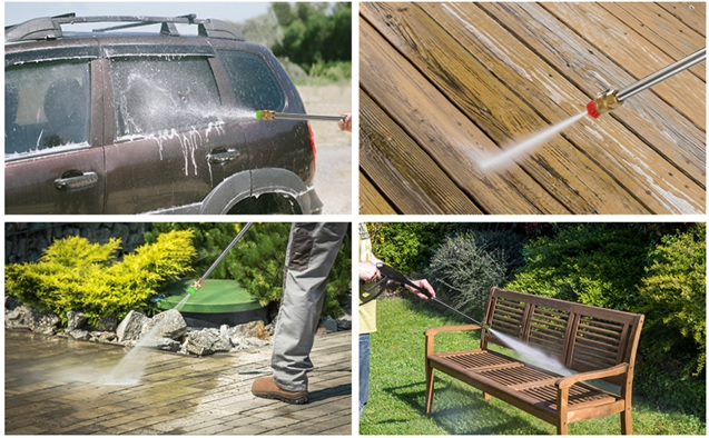 TEANDE electric-powered pressure washer