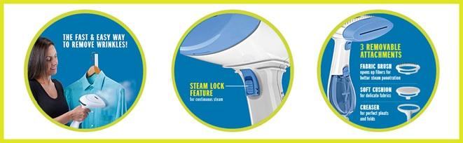 Conair portable garment steamer