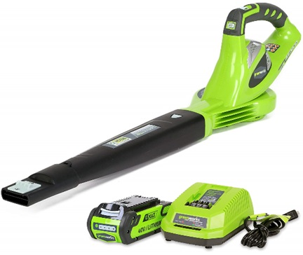 Greenworks GMAX Battery-Powered Cordless Blower