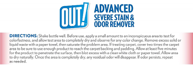 Stain and Odor Remover 2