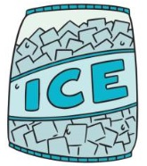 Remove Gum Ice Freezing Method