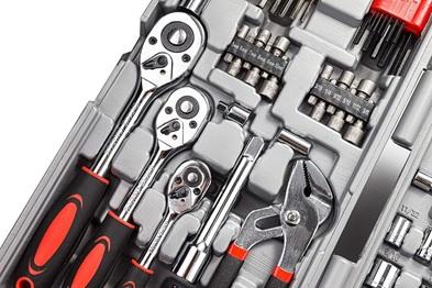 Cartman 205-piece tool set